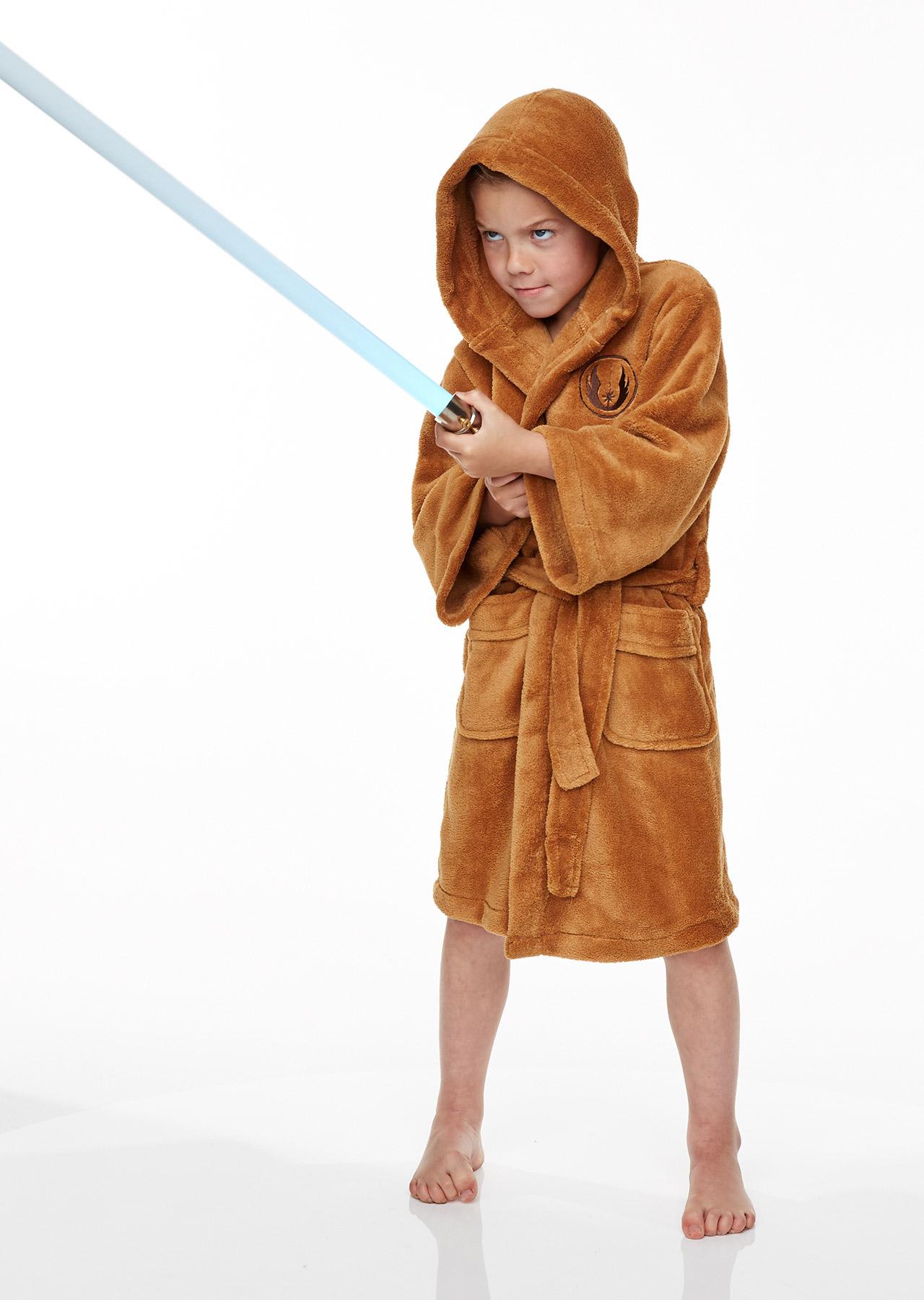 716bb4d77d Star Wars Jedi Kids Fleece Bathrobe – Groovy UK