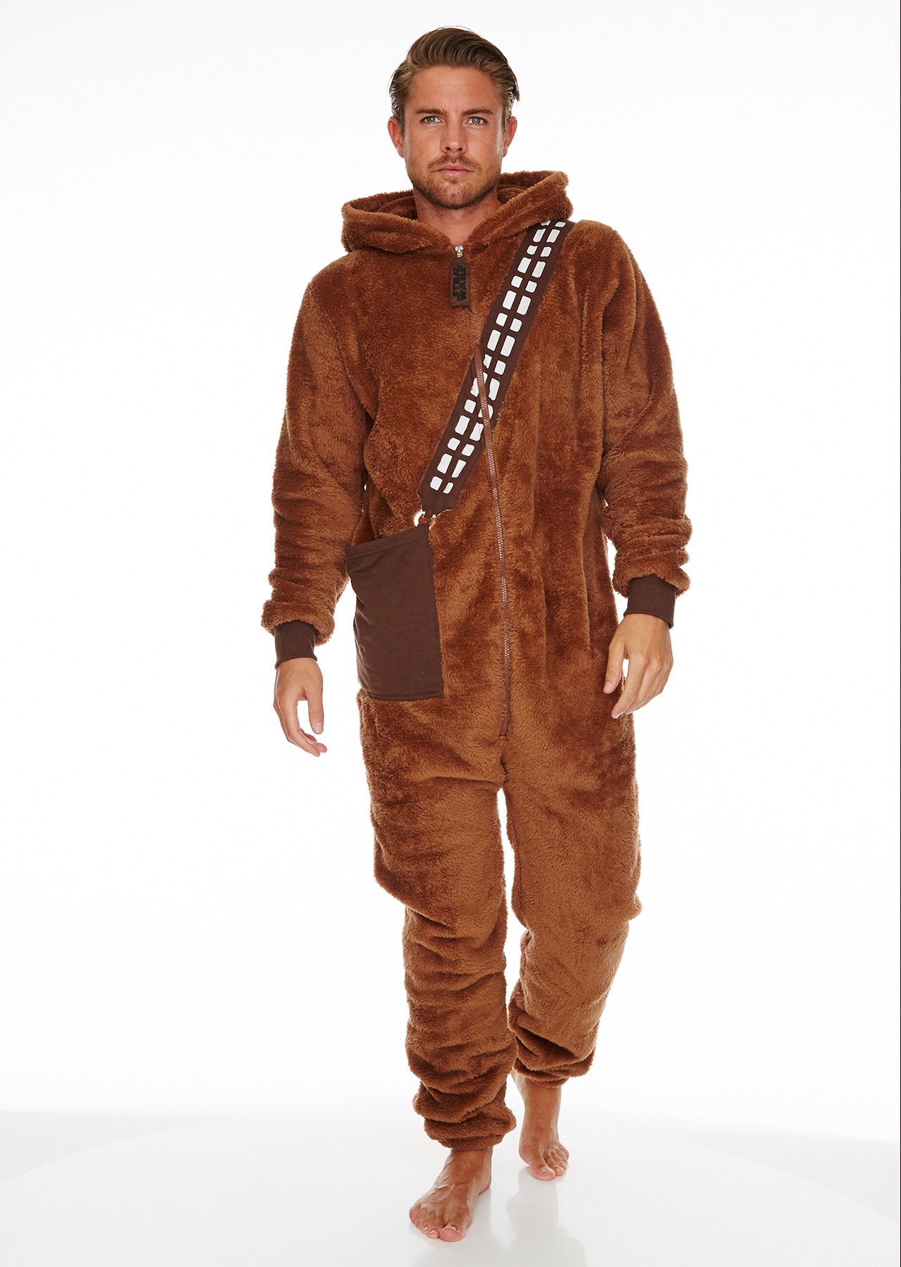 e3f880519 Star Wars Chewbacca Adult Mens Jumpsuit – Groovy UK