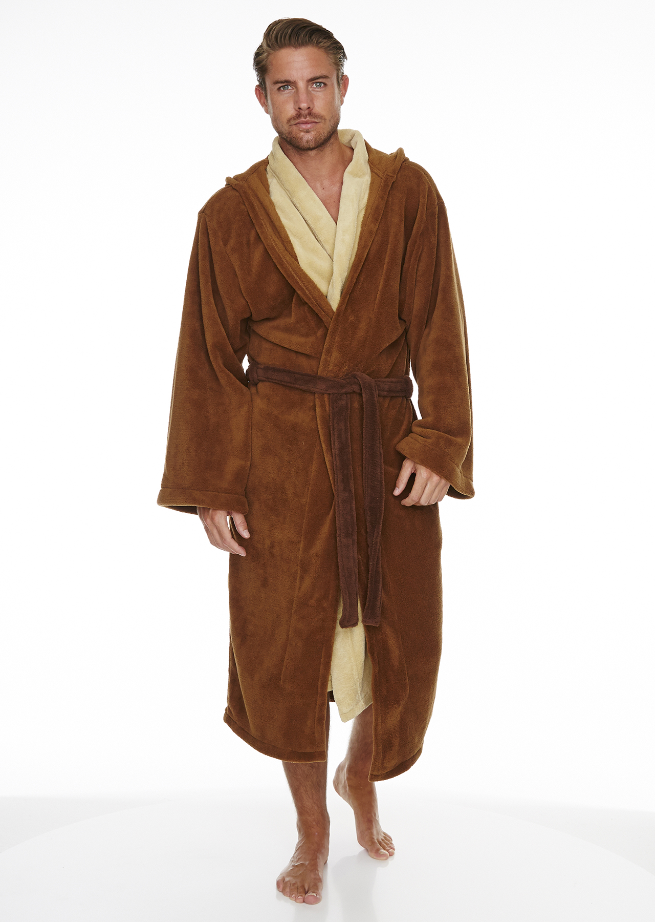 Star Wars Jedi Outfit Adult Fleece Bathrobe – Groovy UK