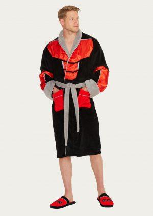Marvel Ant-Man Outfit Adult Fleece Bathrobe e57cc0e08