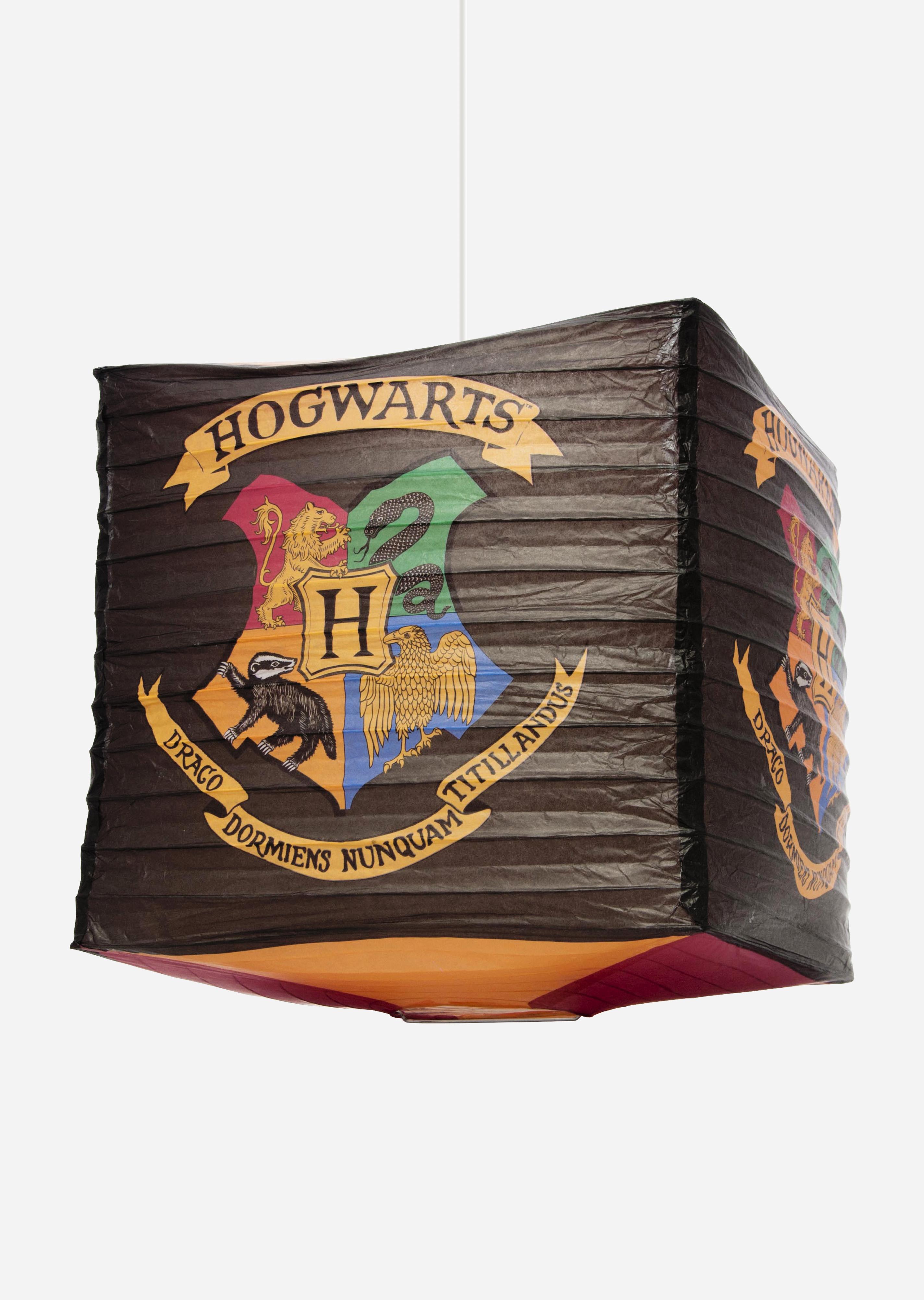 Harry Potter Hogwarts Cube Paper Light Shade Groovy Uk