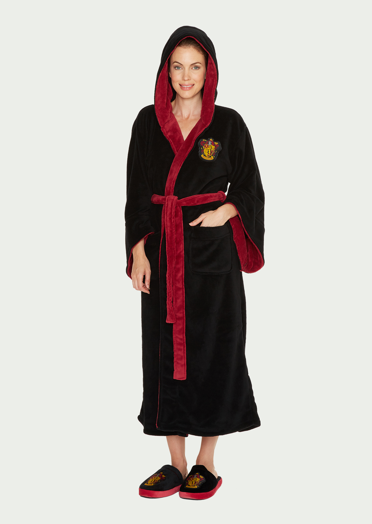 Harry Potter Gryffindor Womens Bathrobe – Groovy UK