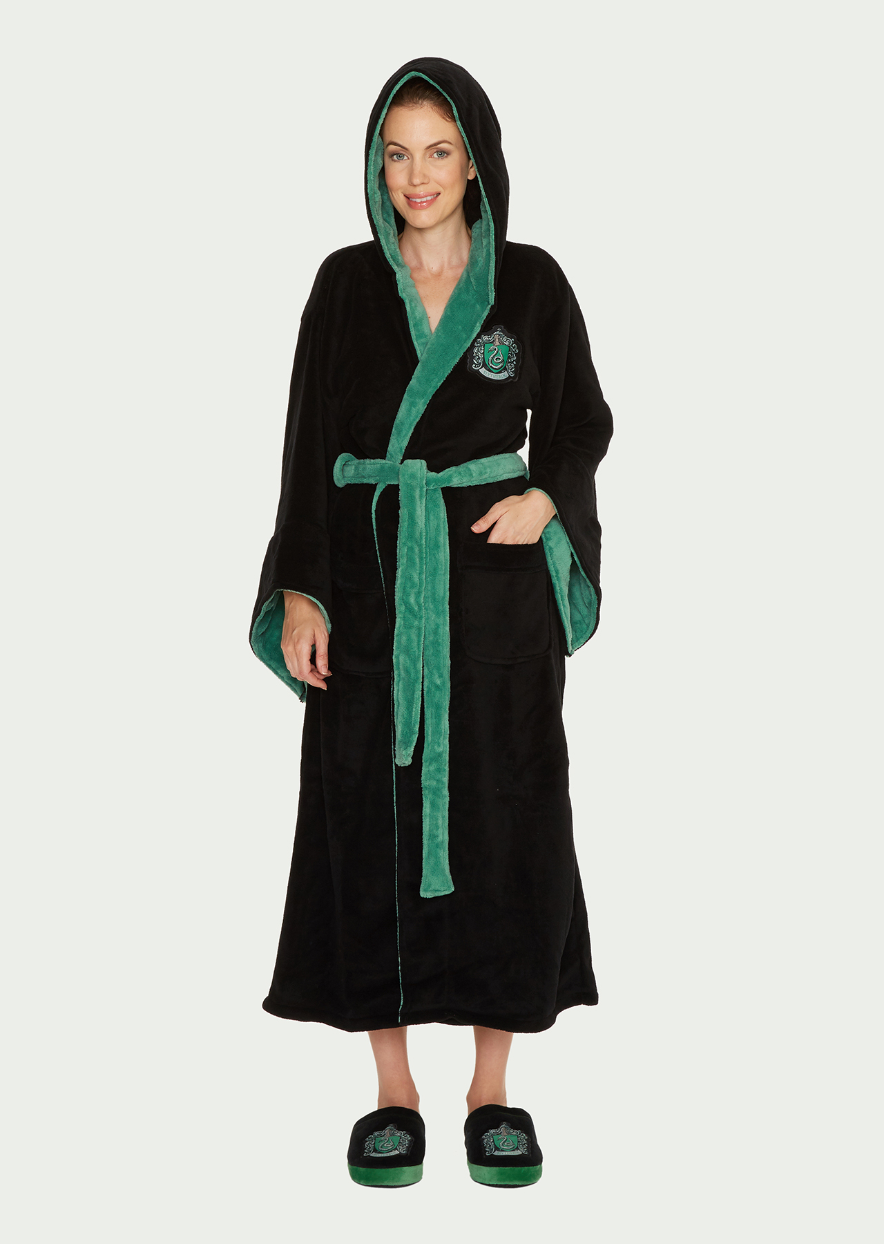 Harry Potter Slytherin Womens Bathrobe – Groovy UK