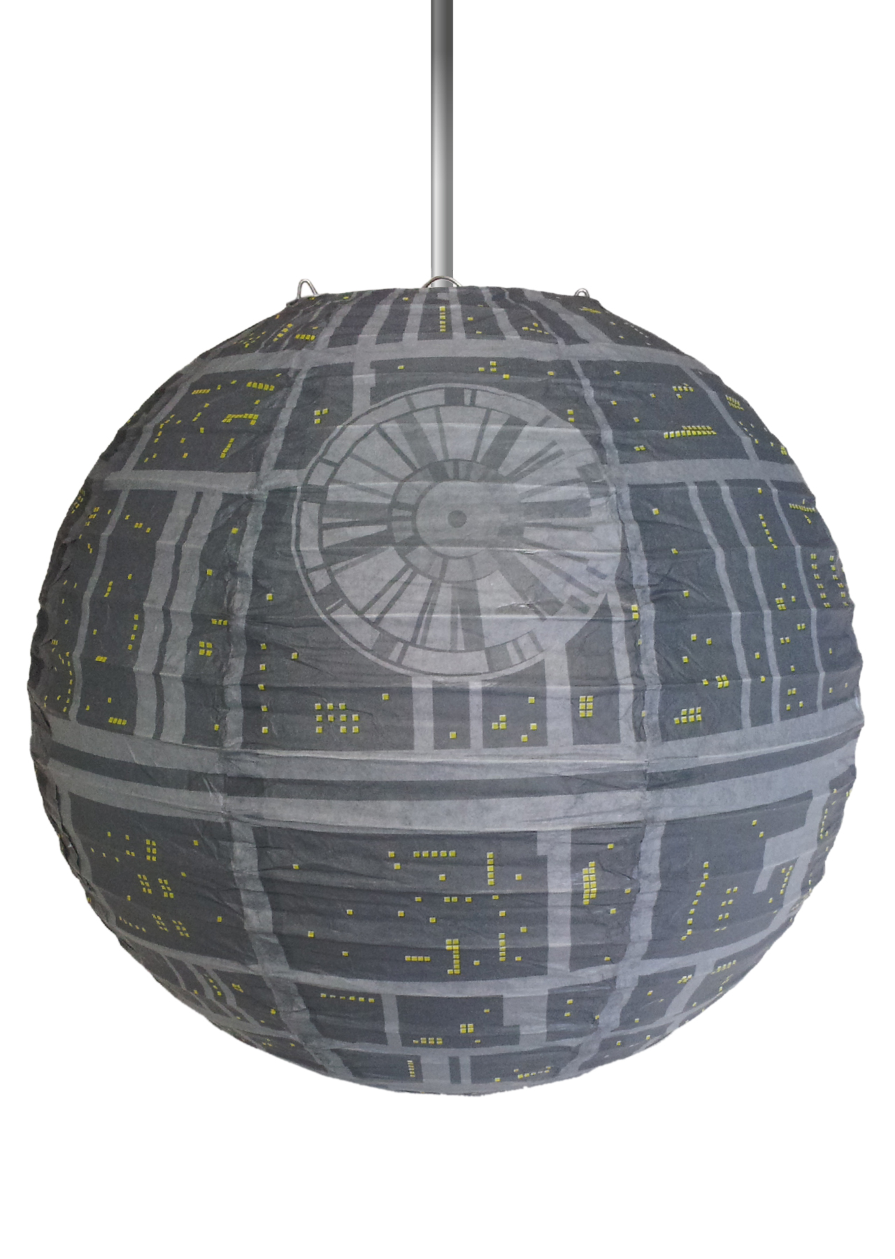star wars death star 30cm paper light shade groovy uk
