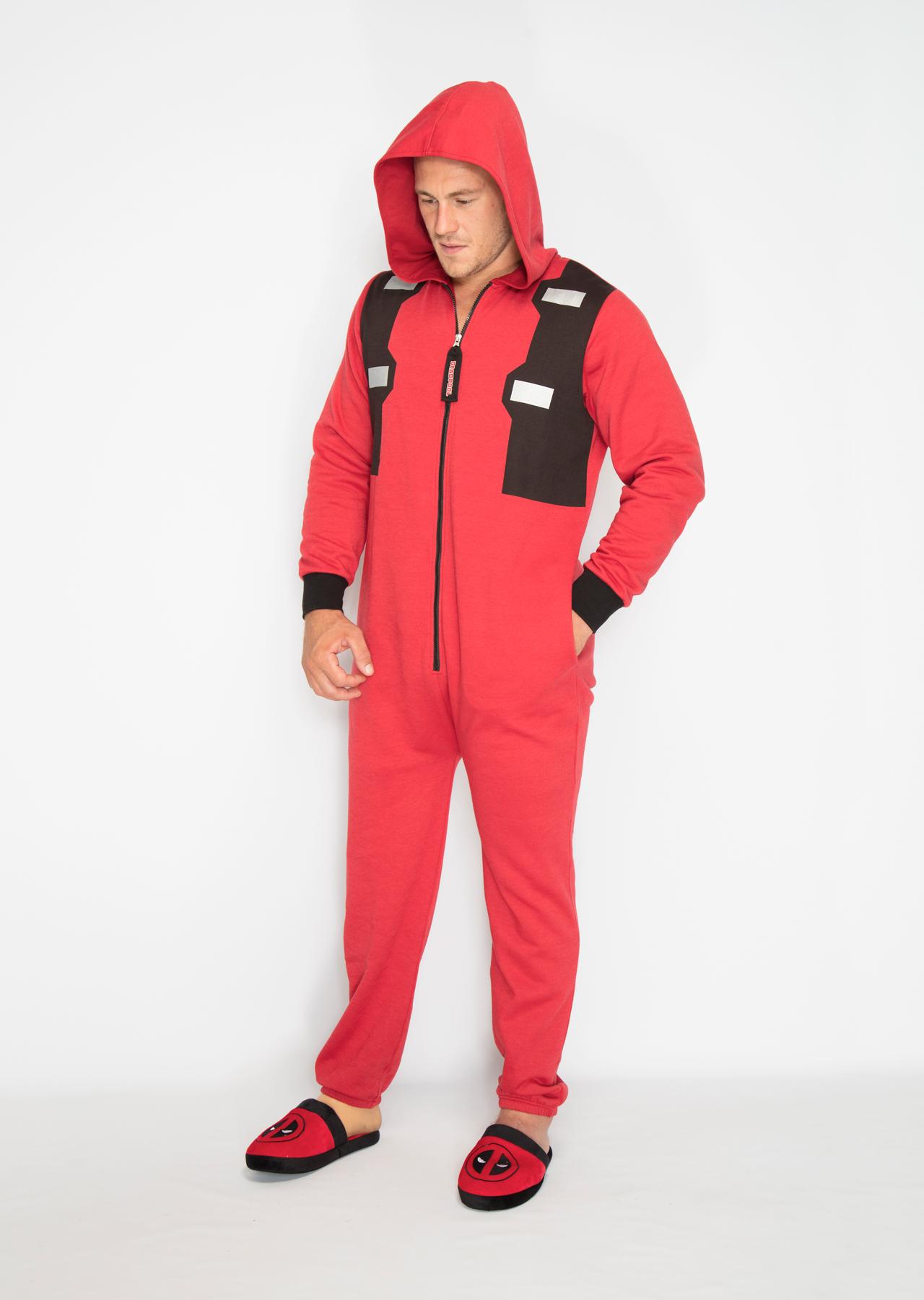 Marvel Deadpool Outfit Mens Jumpsuit – Groovy UK ffa948830