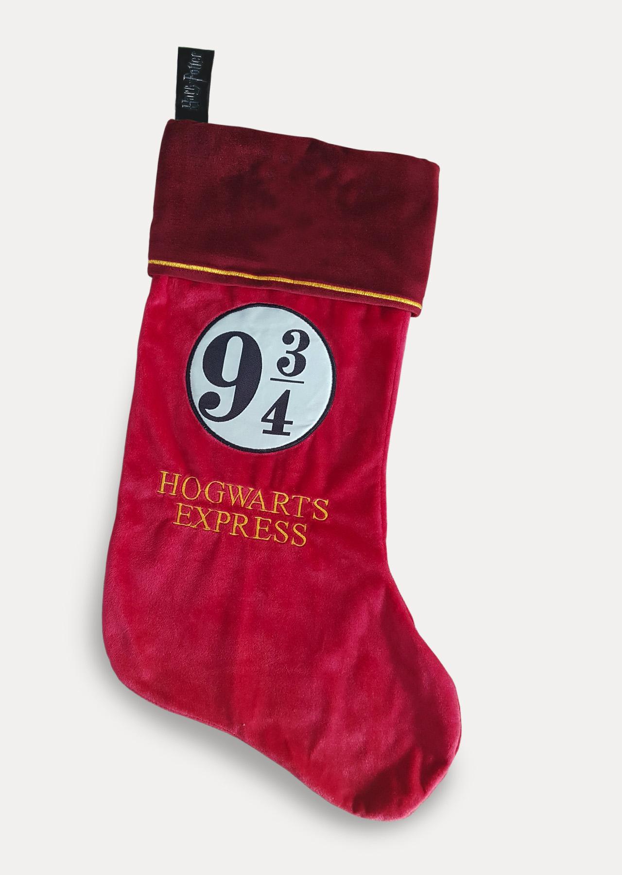 Stocking Christmas.Hogwarts Express 9 3 4 Harry Potter Fleece Christmas Stocking
