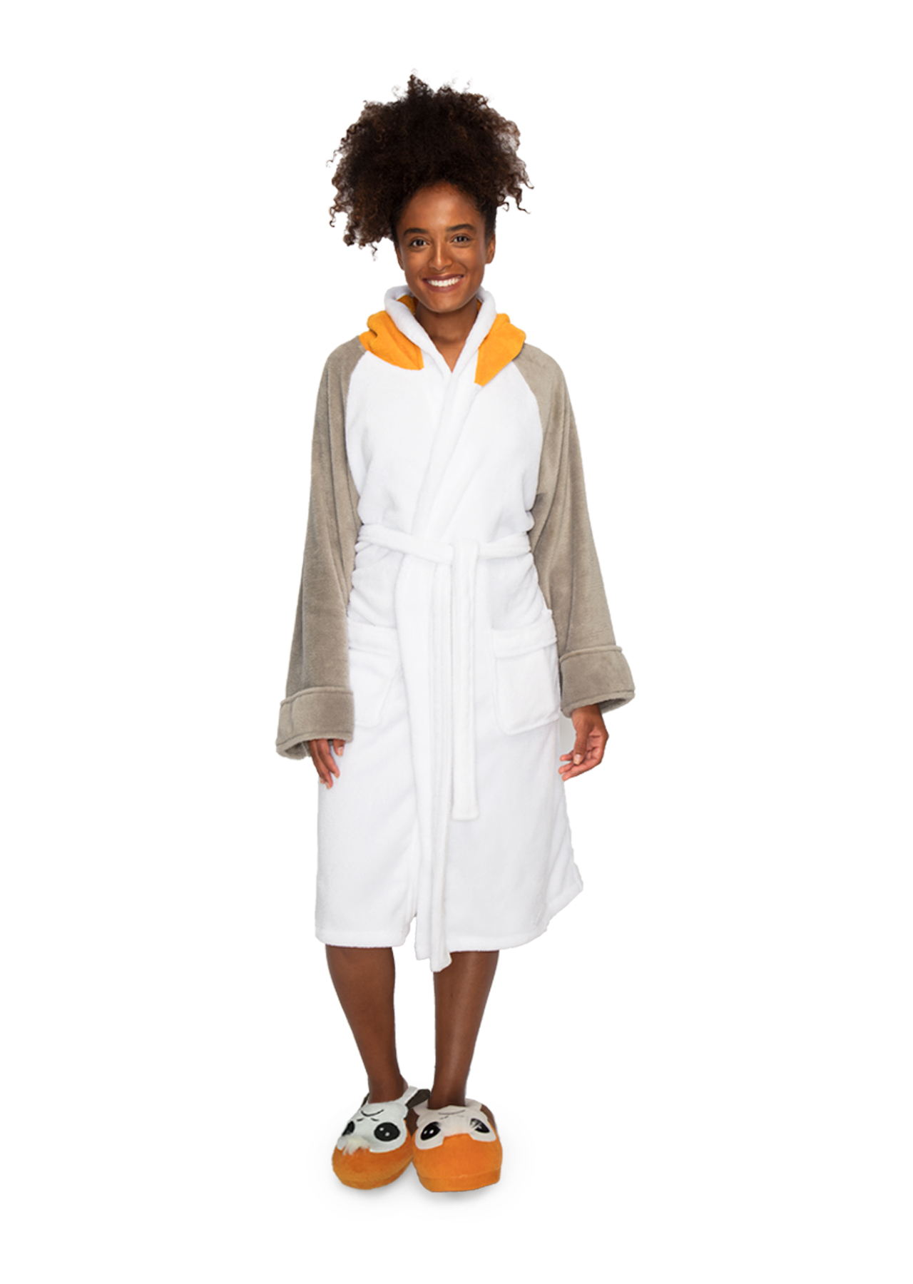Porg Star Wars Ladies Bathrobe – Groovy UK