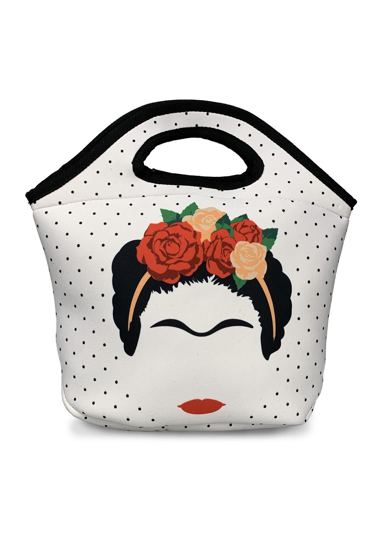 Frida Kahlo Minimalist Neoprene Lunch Bag
