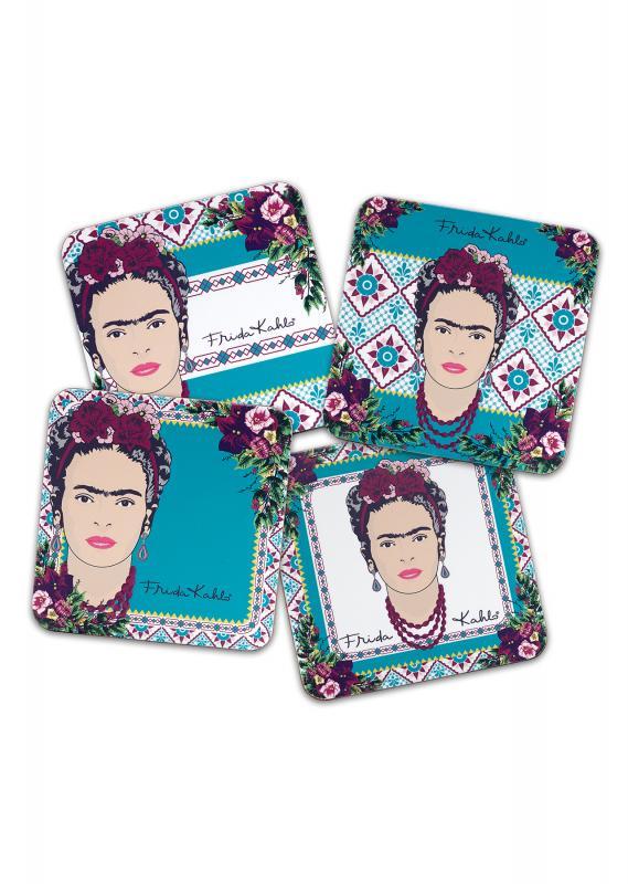 92220_Frida_Kahlo_Violet_Bouquet_Coasters_Group