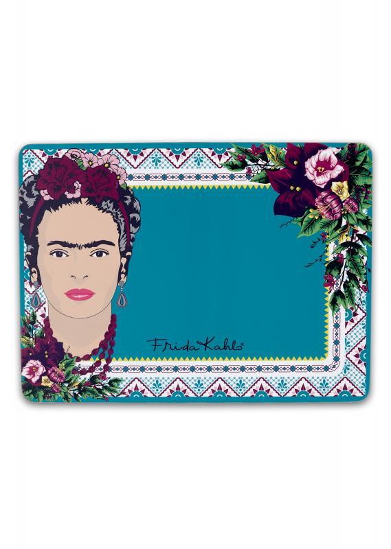 92221_Frida_Kahlo_Violet_Bouquet_Placemat_Single