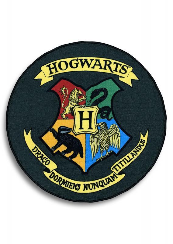 92867_Hogwarts_HP_House-Mat_Round