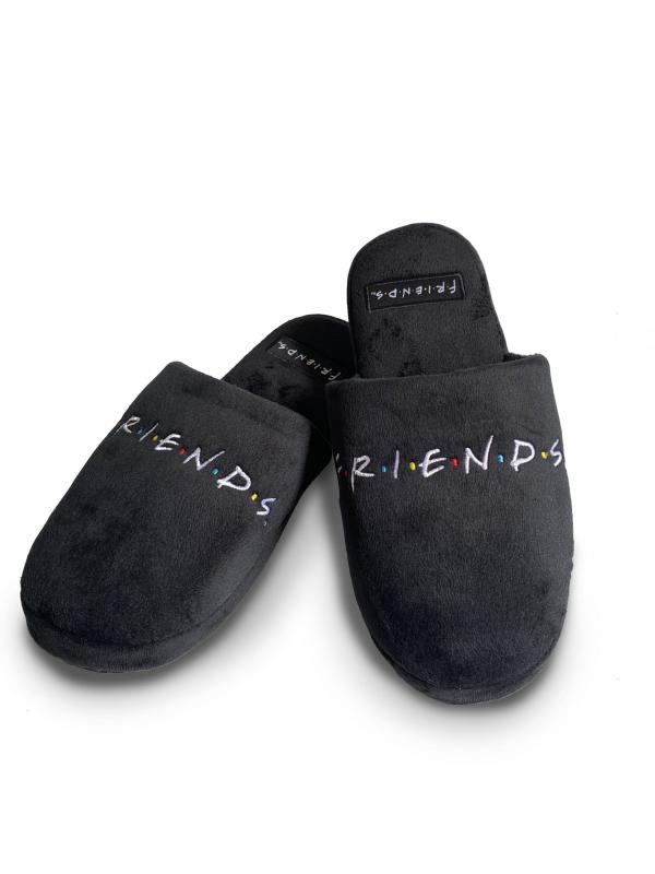 93284_Friends Logo Mule Slippers Women