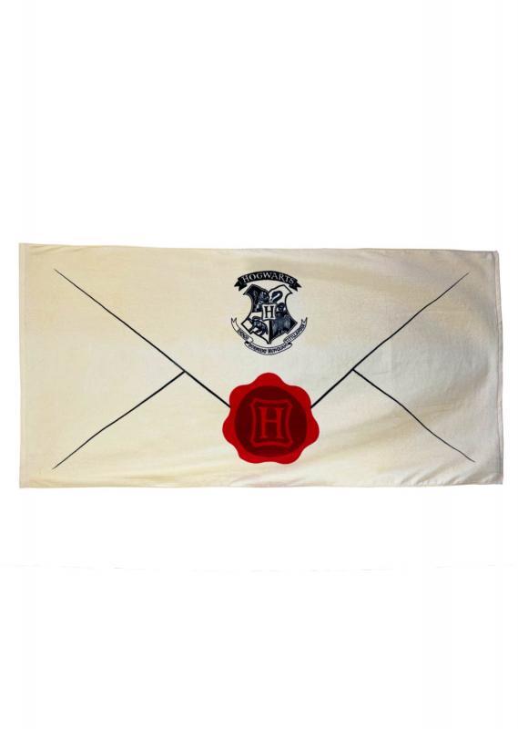93538 Letter of Acceptance Harry Potter towel 750 x 1500mm 2 WEB