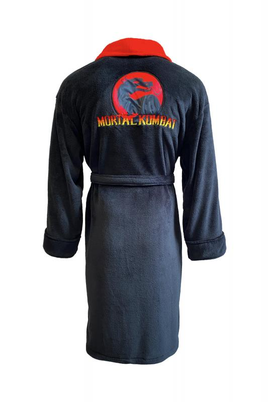 93404_Mortal-Kombat-9_DRAGON-LOGO_Mens_Hoodless-Bathrobe_Back-web