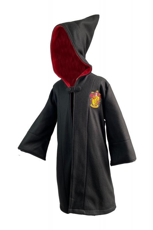 93561_Gryffindor_Long_Length_Robe_Kids_ Black_Logo-Embroidered-on-Chest_Front-2-web