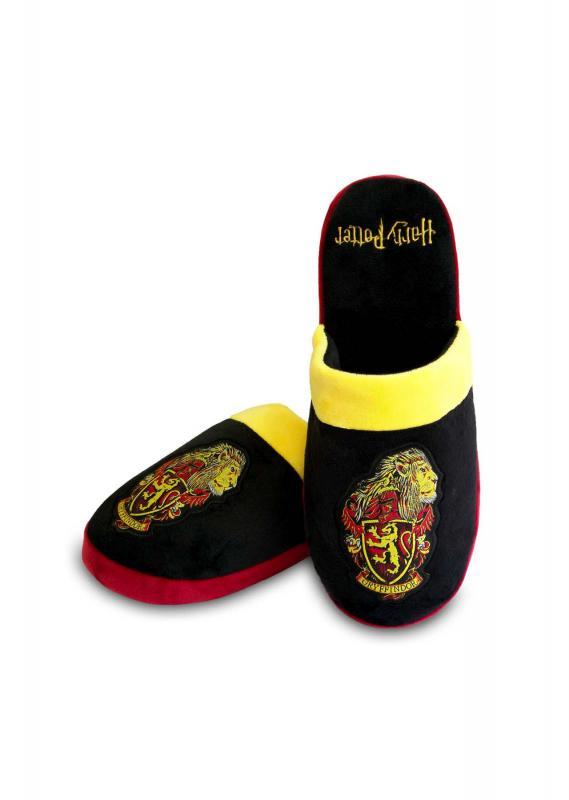 93177_Gryffindor_Lion-Head_Black-Yellow-Red_Mule-Slipper_WEB